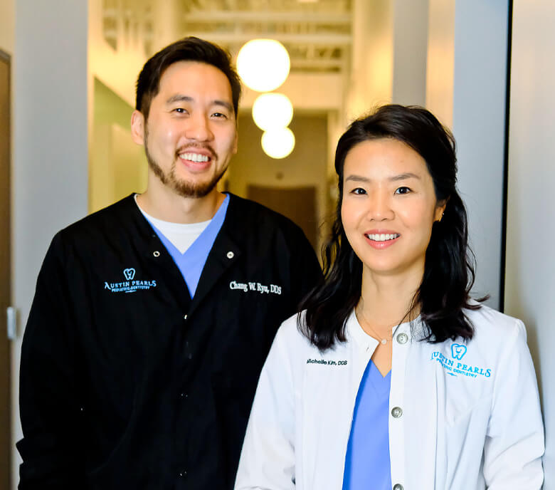 dentists michelle kim and chang ryu